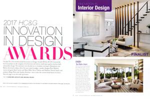 HC&G Innovation in Design Finalist
